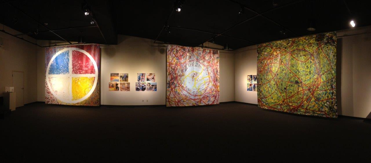 Art for Life photo of paintings created by elders